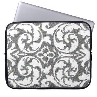 Change the Color Vintage Wallpaper Laptop Sleeve