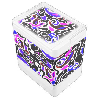 Change the Color Wacky Retro Swirl Cooler