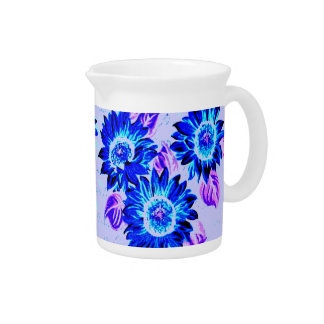 Change the Color Wacky Sunflowers Drink Pitcher