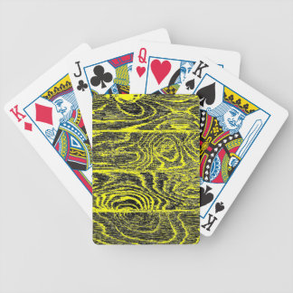 Change the Color Wood Flooring 2 Bicycle Playing Cards