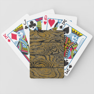 Change the Color Wood Flooring Bicycle Playing Cards