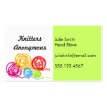 Change the color - yarn balls Business Cards