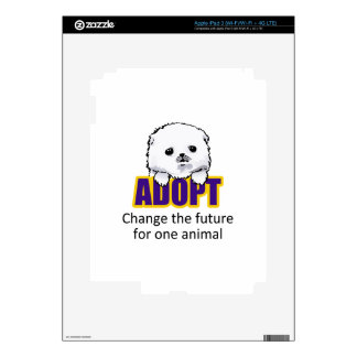 Change The Future For One Animal! Skin For iPad 3