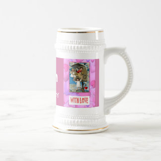 Change the number! Together in the tree house Beer Stein