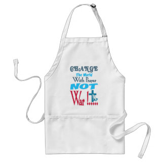 Change the world adult apron
