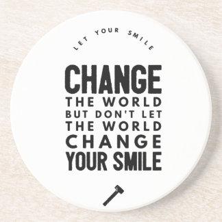Change the world coaster