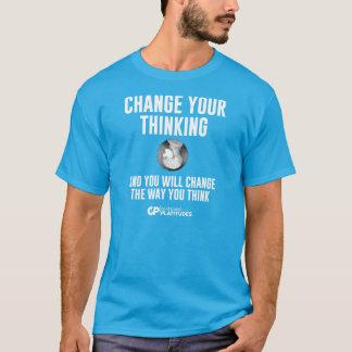 Change Thinking: Contrived Platitudes T-shirt DK