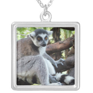 Change to your own animal, pet photo square pendant necklace