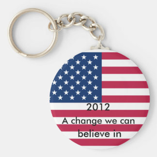 Change we can believe in key chain