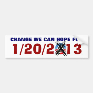 CHANGE WE CAN HOPE FOR CAR BUMPER STICKER