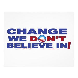 Change-we-don't-believe-in Flyer