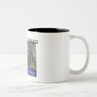 Change We Need - Customized - Customized Two-Tone Coffee Mug