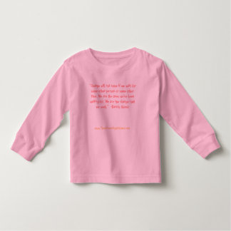 """Change will not come if we wait for some other... Toddler T-shirt"