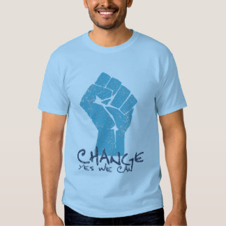 Change Yes We Can Obama t shirt
