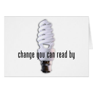 Change You Can Read By Card