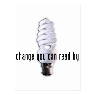 Change You Can Read By Postcard