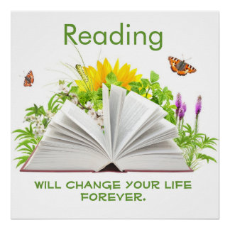 Reading Posters | Zazzle