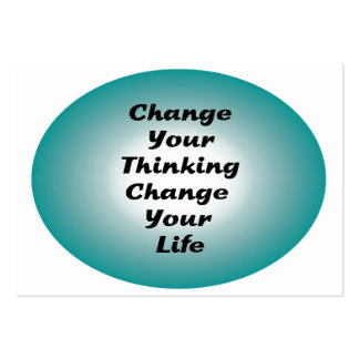 Change Your Thinking, Change Your Life Business Card