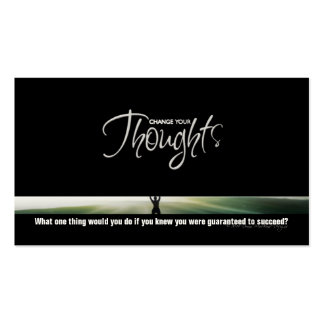 Change Your Thoughts Business Card