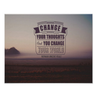 Change Your World Poster