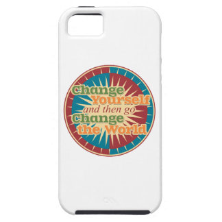 Change Yourself and then go Change the World iPhone SE/5/5s Case