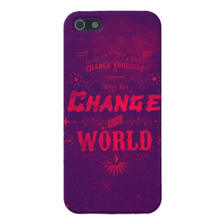 Change Yourself before you Change the World Case For iPhone SE/5/5s