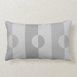 Changeable Color Dark Duo Tone Half-Circle Pillow