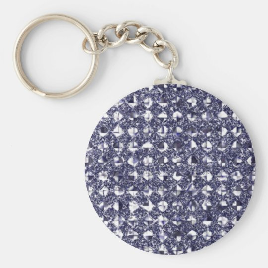 Changeable Hint of Color Sequin Effect Key Chain