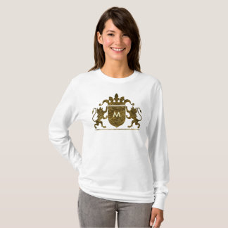Changeable Letter in a Crest T-Shirt