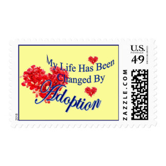 Changed by Adoption Postage Stamps