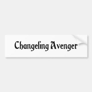 Changeling Avenger Bumper Sticker