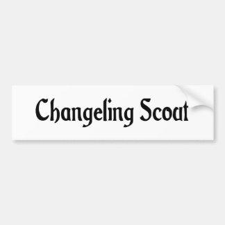 Changeling Scout Bumper Sticker