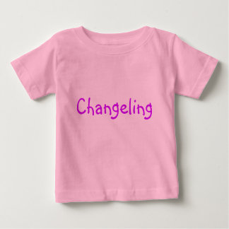 Changeling with Fairy wings Baby T-Shirt