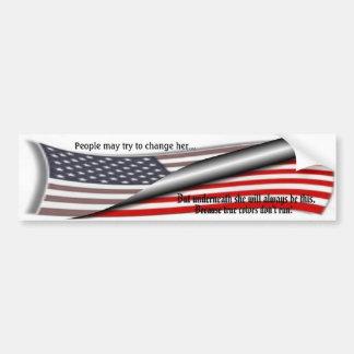 Changing America Bumper Sticker