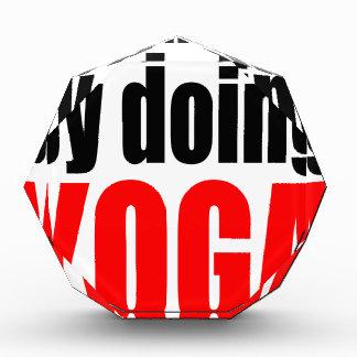 CHANGING FATE doing yoga lazy workout wife husband Award