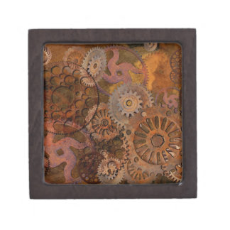 Changing Gear - Steampunk Gears & Cogs Gift Box