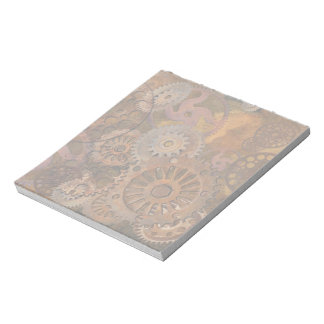 Changing Gear - Steampunk Gears & Cogs Notepad