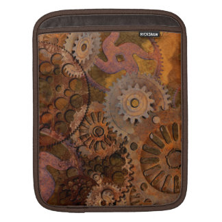 Changing Gear - Steampunk Gears & Cogs Sleeve For iPads