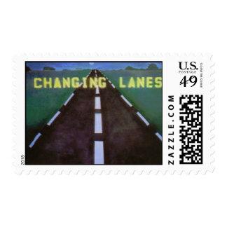 Changing Lanes Logo Postage Stamp