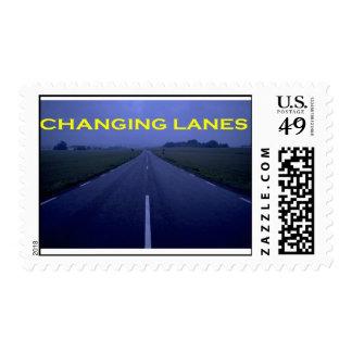 Changing Lanes postage stamp