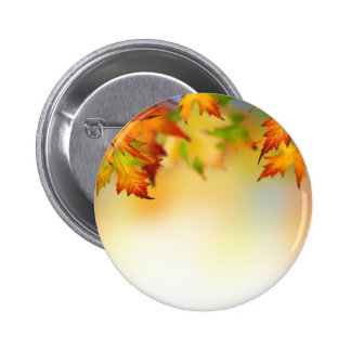Changing Leaves 2 Inch Round Button