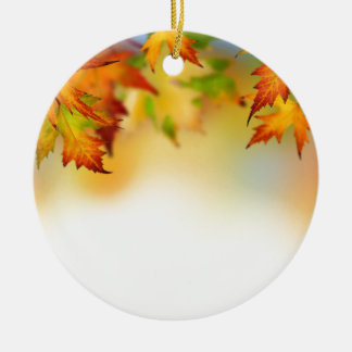 Changing Leaves Christmas Ornament