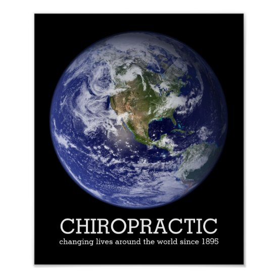 Changing Lives Around The World 1895 Chiropractic Poster