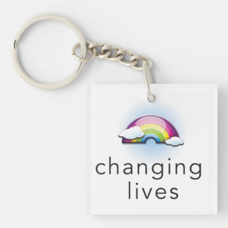 Changing Lives Keychain