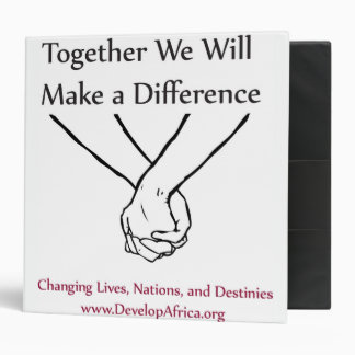 Changing Lives, Nations, and Destinies 3 Ring Binder