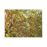 Changing Maple Tree Green and Gold Autumn Doormat