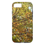 Changing Maple Tree Green and Gold Autumn iPhone 7 Case