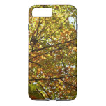 Changing Maple Tree Green and Gold Autumn iPhone 7 Plus Case