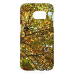 Changing Maple Tree Green and Gold Autumn Samsung Galaxy S7 Case