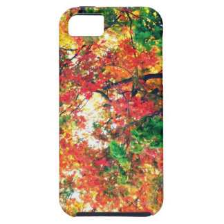 Changing of the Seasons: Fall Leaves iPhone 5 Covers
